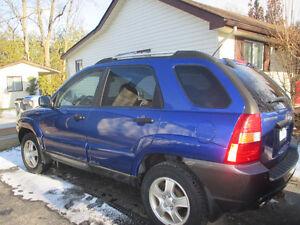 2006 Kia Sportage Grey SUV, Crossover