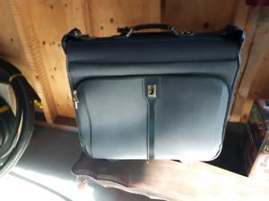 A suit suitcase