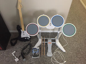 ROCK BAND for Wii Complete Set