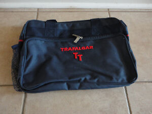 Brand new with tags Trafalgar navy blue cabin travel bag London Ontario image 2