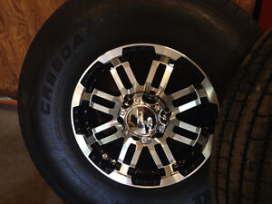 ST235/85R16 heavy duty 14 ply tire & wheel packaged ! 6 & 8 hole