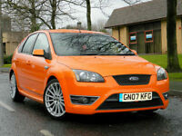 2007 07 Ford Focus 2.5 SIV ST-3 5dr WITH CAMBELT DONE+FSH+LEATHER+XENONS