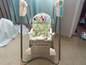 FISHER PRICE SMART STAGES 3 IN 1 ROCKER SWING