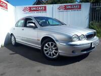 2001 Y JAGUAR X-TYPE 2.5 V6 AUTOMATIC SE 4X4 (AWD).12 MONTHS MOT.GREAT EXAMPLE .