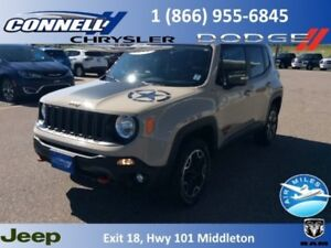 2016 Jeep Renegade Trailhawk  - Bluetooth - $155.66 B/W