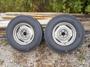 OLD FORD PARTS-SLICKS-HEADERS-INTAKES-CLUTCHES-ENGINES-RIMS -ETC