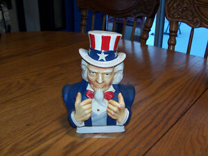 Uncle Sam Piggy Bank