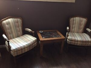 2 Antique Arm Chairs