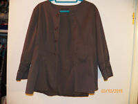 'Elie Tahari' Grey Jacket, Cute Style! Worn Once! Approx. Size 8