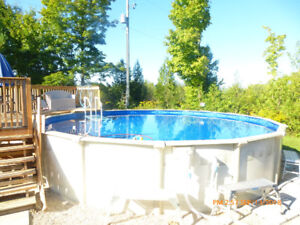24 foot round pool for sale