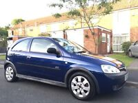 2003 Vauxhall Corsa 1.4 Sri Excellent Runner Low Miles Only 79k AC