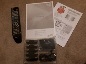 2009 Samsung LCD TV 550 Series5 Manual, Remote, iPhone interface