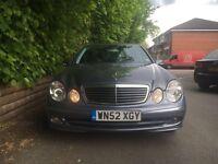 2003 Mercedes E320 Avantgarde ***DUAL FUEL LPG ***