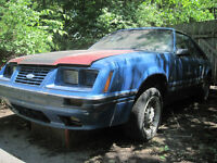 1984 Ford Mustang GT T-top 5.0L