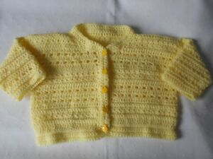 BRAND NEW HAND CROCHETED TODDLER SWEATERS