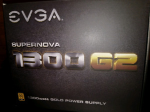 EVGA power supply Bloc d'alimentation 1300W G2 80 Gold