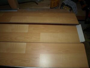 Konecto Laminate 2 strip Natural Maple pattern #54155