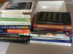 Psychology textbooks for sale $50 for all