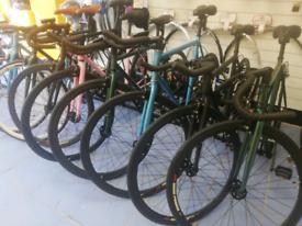 Brand New Single Speed Fixed Gear bike Road hybrid bicycle 210