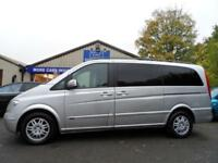 2010 10 MERCEDES-BENZ VIANO 2.1 CDI LONG AMBIENTE 5D AUTO 7 SEATER FULL LEATHER