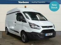 2016 Ford Transit Custom 2.2 TDCi 125ps Long Wheelbase L2H2 High Roof Van PANEL