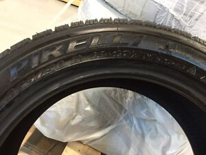 Pirelli Winter tires 255/50/R19 West Island Greater Montréal image 4