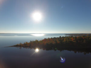 Grand Lake waterfront land for sale/High and Dry