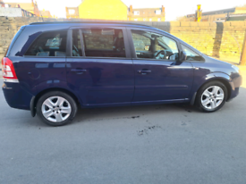 2013 Vauxhall Zafira 1.7cdti 7 seater
