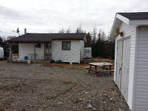 """Cozy Cabin With New Shed For Sale """"1 Hour from St.John's"""""""
