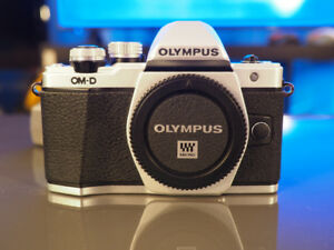 Olympus OM-D E-M10 Mark II Mirrorless Camera $450 Mint Condition