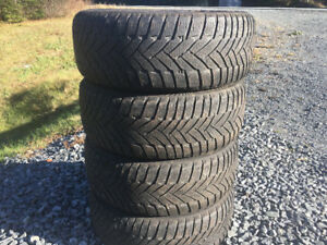 Four 205/55R16 Winter Tires Excellent Tread