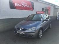 *low miles* 2006 Vauxhall Corsa 1.2i 16v SXi