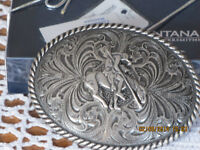 BELT BUCKLE - MONTANA SILVERSMITHS