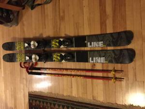 Line alpine skis