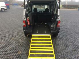 2008 Peugeot Partner 1.6HDi 90 Escapade Wheelchair adapted vehicle by Horizon.