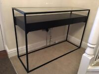 Dwell console table with drawers