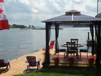 WATERFRONT FOR RENT LAKE ST FRANCIS