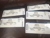 WWE Live Tickets x 5