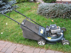 Gas lawn mower  Yard Works in good condition with grass catcher