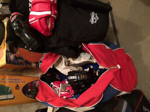 Two Sets of Hockey Equipment  ( They got to GO!! )