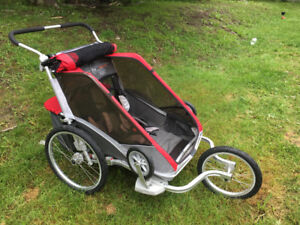 Chariot double stroller - 2015