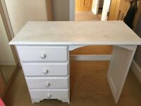 Solid pine desk dresser