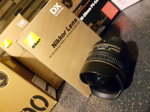 Nikon 10.5mm f2.8 DX fisheye