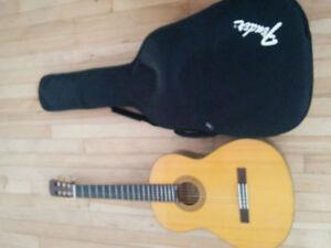 Guitare alvarez rc-10  avec soft case fender a vendre