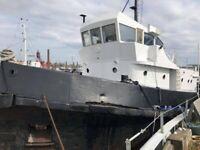 Stunning Tug Conversion - Sea Challenge