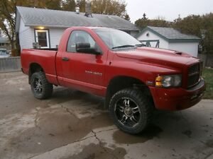2005 Dodge Power Ram 1500 SLT 4X4 WITH 4 INCH LIFT Pickup Truck