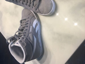 Grey High Top Men's Reebok