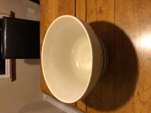 Large ceramic mixing bowl