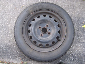 185 65 14 winter tires on rims Cambridge Kitchener Area image 1
