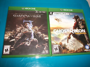 Xbox One games...x2